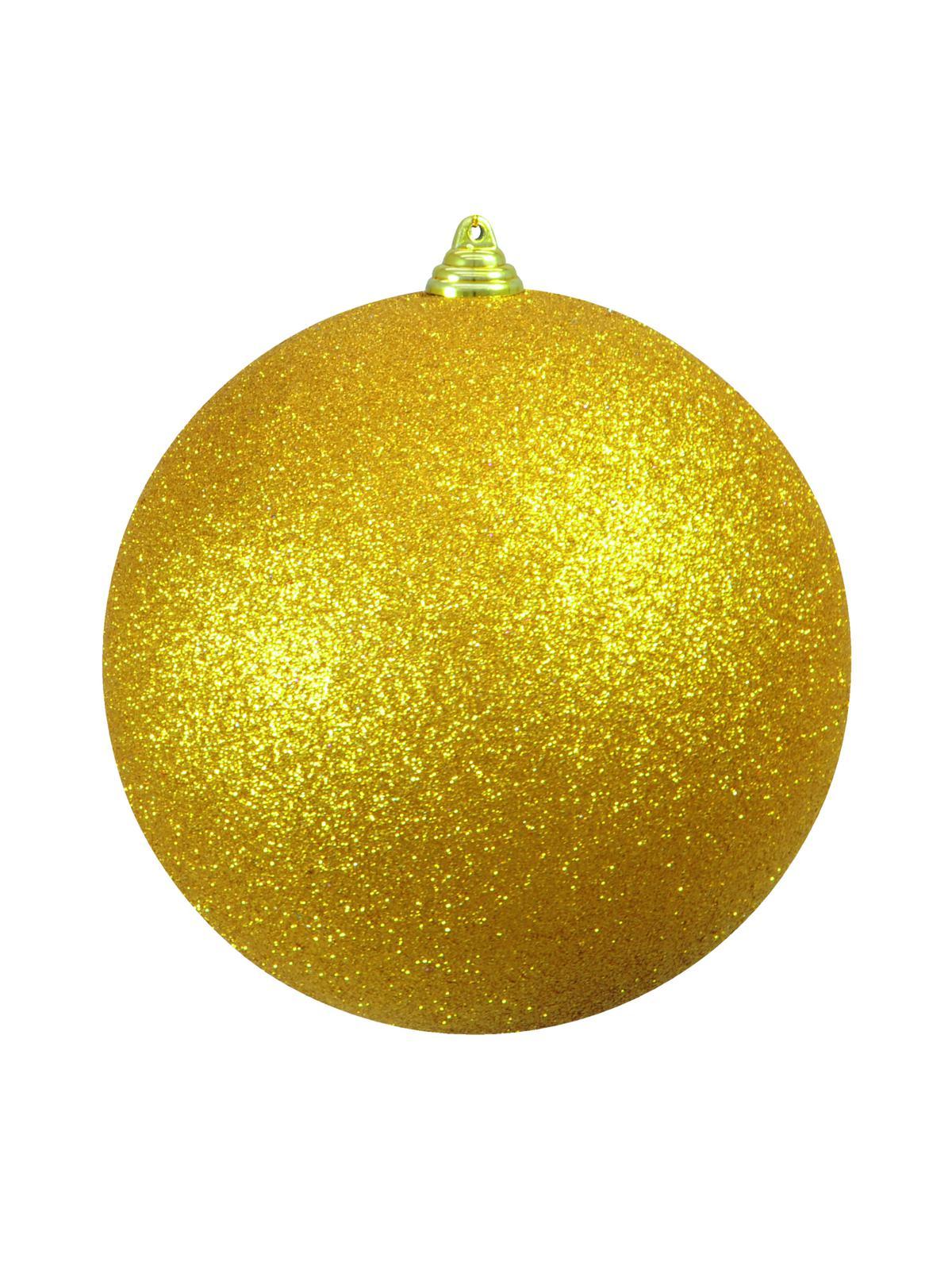 Venkovní vánoční koule žlutá